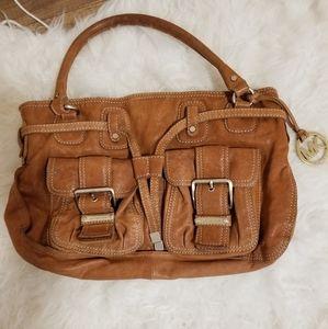 Michael kors Drawstring light brown (tan) leather